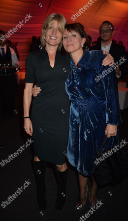 The Power 1000 Launch at Battersea Power Station Hosted by the London Evening Standard Sarah Sands and Rachel Johnson