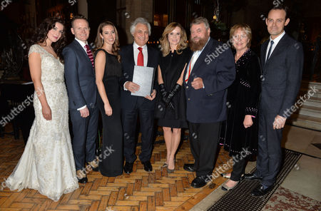 the Princes Foundation For Children and the Arts Annual Carol Service at Holy Trinity Sloane Street London Margaret Keys Joe Stilgoe Amy Dickson John Suchet Amanda Holden Brian Blessed Penelope Wilton & Harry Hadden-paton