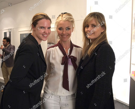 The Private View of 'Anja Niemi: Do not Disturb' at the Little Black Gallery Park Walk Fulham London Victoria Aitken Tamara Beckwith & Paola Tholstrup
