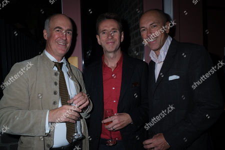 The Royal Academy of Arts Launch of the Keeper's House Burlington House Piccadilly London Charles Saumarez Smith Oliver Peyton & Dylan Jones