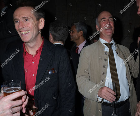 The Royal Academy of Arts Launch of the Keeper's House Burlington House Piccadilly London Oliver Peyton & Charles Saumarez Smith