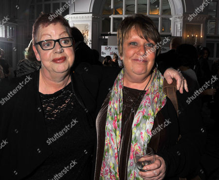 The Sky Women in Film and Television Awards at the Hilton Park Lane London Jo Brand and Kathy Burke