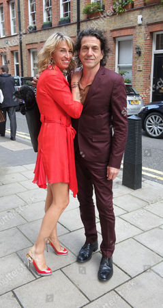 The Spectator Magazine Summer Party at Their Offices at Old Queen Street Westminster London Anastasia & Stephen Webster