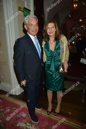 The Tatler Jubilee Party Hosted by Tatler and Thomas Pink at the Ritz Hotel Piccadilly London Simon Reuben with His Wife Joyce Reuben