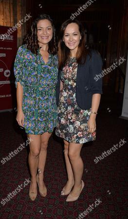 The Uk Theatre Awards at the Guildhall City of London Savannah Stevenson & Jennifer Dinola