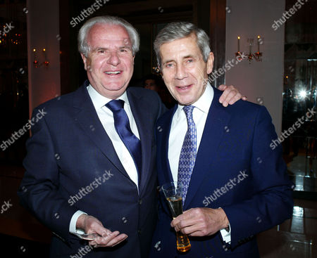 The Veuve Clicquot Business Woman of the Year Award the Ballroom Claridge's Hotel Brook Street London Lord Paul Myners and Sir Stuart Rose