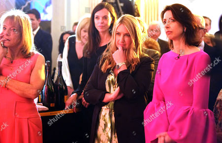 The Veuve Clicquot Business Woman Award at the Ballroom Claridge's Hotel Brook Street London Ruth Rogers Anya Hindmarch &helena Morrissey