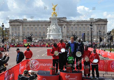 Editorial photo of The Virgin London Marathon