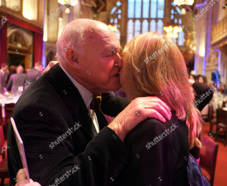 Theatre Awards Uk at the Guild Hall City of London Timothy West & Pamela Miles