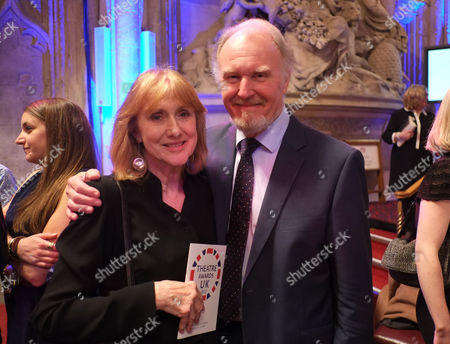 Theatre Awards Uk at the Guild Hall City of London Tim Pigott-smith & His Wife Pamela Miles