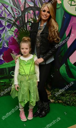 Tinker Bell and the Secret of the Wings Screening at the Mayfair Hotel Stratton Street Mayfair London Chloe Simms and Madison