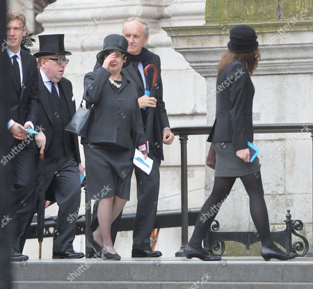 True Blue Lady Thatcher's Funeral at St Pauls Cathedral Simon Heffer and Paul Dacre
