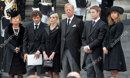 Editorial image of True Blue Lady Thatcher's Funeral at St Pauls Cathedral