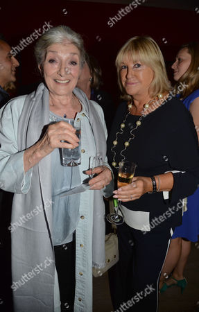 Uk Gala Screening of Before I Go to Sleep at Ham Yard Hotel Soho London Jane Lapotaire & Patsy Baker