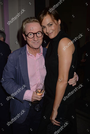 V&a Private View - Horst - Photographer of Style John Swannell and Yasmin Le Bon