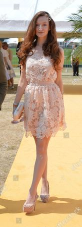 Veuve Clicquot British Open Polo Championships Gold Cup Final at Cowdray Park Polo Club Midhurst West Sussex Oliva Grant
