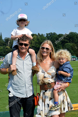 Veuve Clicquot British Open Polo Championships Gold Cup Final at Cowdray Park Polo Club Midhurst West Jack Kidd with His Sister Jody Kidd and Their Sons