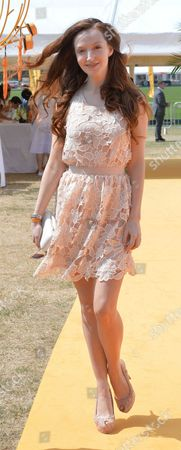 Stock Image of Veuve Clicquot British Open Polo Championships Gold Cup Final at Cowdray Park Polo Club Midhurst West Sussex Oliva Grant