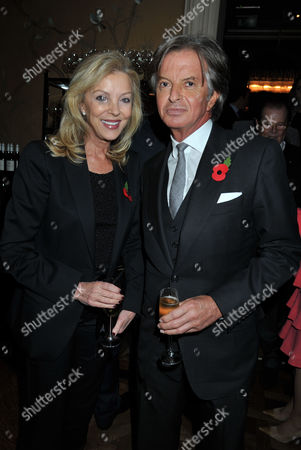 Stock Image of Winner's Dinners Awards the Belvedere New Lodge Holland Park London Richard & Jackie Caring