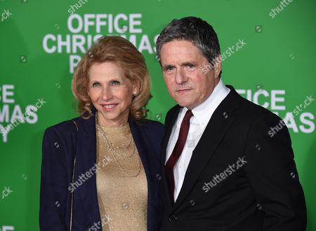 Shari Redstone and Brad Grey