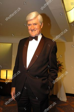 Stock Photo of Dinner at the Savoy Hotel to Commemorate the Victory 25 Years Ago of the Conservatives Winning the General Election & Mrs Thatcher Becoming Prime Minister Lord Cecil Parkinson