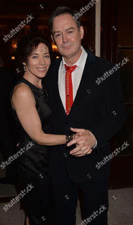 Stock Picture of 12 Angry Men Press Night at Garrick Theatre Charing Cross Road and After Party at the Waldorf Hilton Hotel Aldwych London Paul Antony-barber