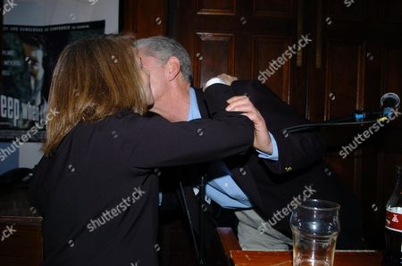 Party at the Kings Head Pub Upper Street Islington Following the Premiere of I'll Sleep When I'am Dead at the Screen On the Green Charlotte Rampling & Georgie Fame
