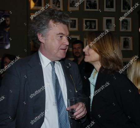 Party at the Kings Head Pub Upper Street Islington Following the Premiere of I'll Sleep When I'am Dead at the Screen On the Green Anthony Palliser & Charlotte Rampling