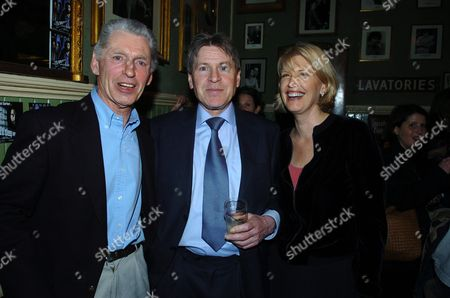 Party at the Kings Head Pub Upper Street Islington Following the Premiere of I'll Sleep When I'am Dead at the Screen On the Green Georgie Fame Alan Price & Georgie Partner Suzie Doscher
