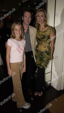 Allegra Hicks & Her Husband Ashley with Their Eldest Daughter Angelicia