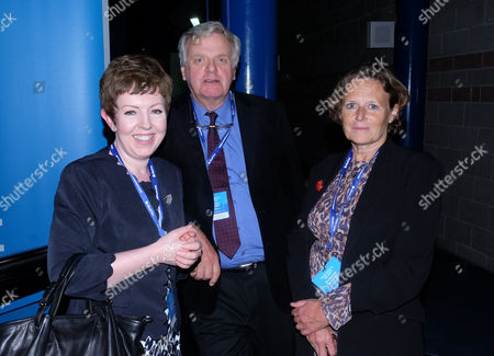 The Conservative Autumn Conference at the Icc Birmingham Uk Party Time Delegates Seen Around the Icc Attending Last Night Parties Leader of the House of Lords the Baroness Stowell of Beeston Lord Michael Grade and Baroness Anne Jenkin