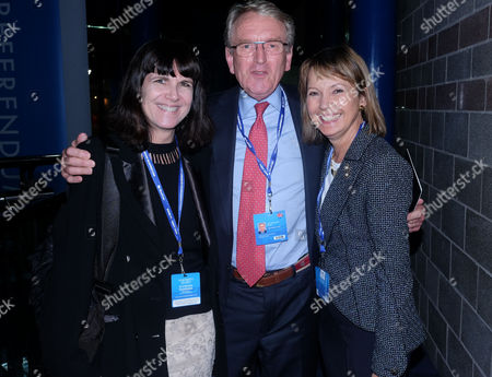 The Conservative Autumn Conference at the Icc Birmingham Uk Party Time Delegates Seen Around the Icc Attending Last Night Parties Catherine Mayer (time's Europe Editor) with Sir Christopher Meyer with His Wife Lady Catherine Meyer
