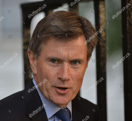 Sir John Sawers Head of Mi6 Arrives For the National Security Meeting at Number 10 Downing Street
