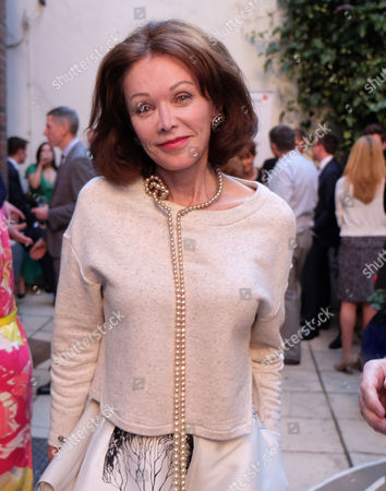 Stock Picture of The Spectator Magazine Summer Party at Their Office in Old Queen Street Westminster London Barbara Amiel