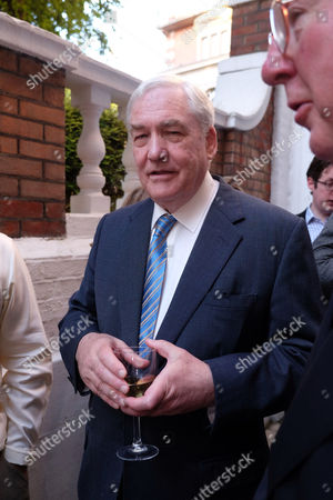 The Spectator Magazine Summer Party at Their Office in Old Queen Street Westminster London Conrad Black