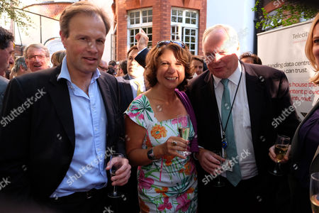 The Spectator Magazine Summer Party at Their Office in Old Queen Street Westminster London Tom Bradby Adam Boulton