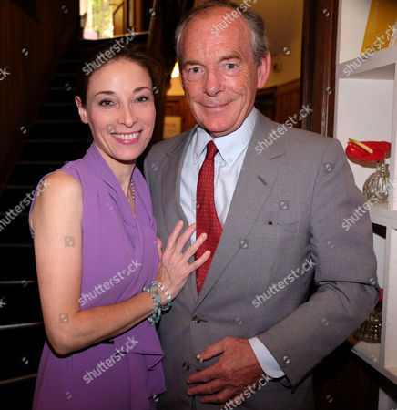 The Spectator Magazine Summer Party at Their Office in Old Queen Street Westminster London Simon Jenkins and Hannah Kaye