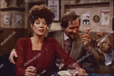 Stock Picture of Linda Marlowe (as Marje Collier) and Colin Edwynn (as Bernie Fisher)