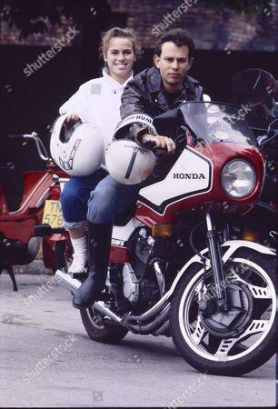 Stock Photo of Sue Devaney (as Debbie Webster) and Paul Elsam (as Dazz Isherwood)