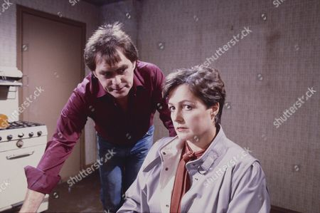 Stock Picture of William Tarmey (as Jack Duckworth) and Dorothy Vernon (as Mrs Walters)