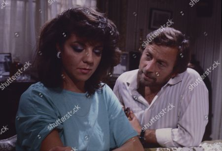 Stock Picture of Vikki Chambers (as Sally Waterman) and Kenneth Farrington (as Billy Walker)