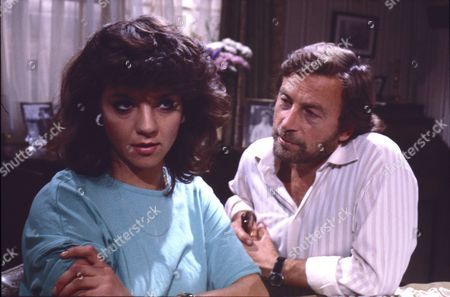 Stock Image of Vikki Chambers (as Sally Waterman) and Kenneth Farrington (as Billy Walker)
