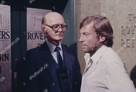 Anthony Benson (as Mr Harrison) and Kenneth Farrington (as Billy Walker)