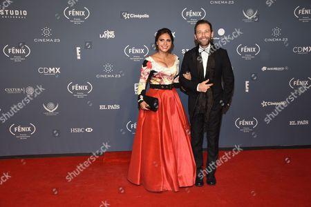 Stock Image of Jackie Castro and Juan Manuel Bernal