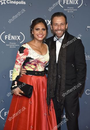 Stock Photo of Jackie Castro and Juan Manuel Bernal
