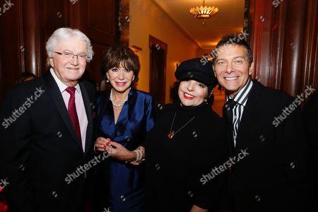 Stock Photo of Leslie Bricusse, Yvonne Romain, Liza Minnelli and Michael Feinstein