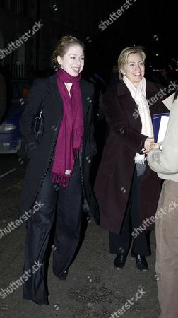 Ex-president Bill Clinton Took His Wife Hilary & Daughter Chelsea to See Breath of Life at the Theatre Royal Haymarket On Friday Evening Also in the Party Was Madeleine Albright the Clintons Arrived at the Theatre 45min After the Preformance Had Started As Their Trip From Oxford Took Longer Than Planned After the Show They Meet Dames Judi Dench & Maggie Smith When They Left the Theatre Their Cars Has Driven Away and They Were Leave On the Pavement Waiting For Them to Return