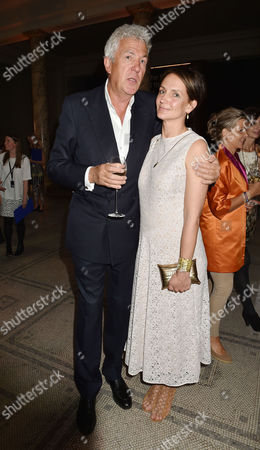 London, England, 22th June 2016: Saffron Aldridge and Henry Wyndham at the V&a Summer Party, London On the 22nd June 2016.