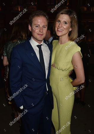 London, England, 22th June 2016: Guy Pelly with His Wife Elizabeth Wilson at the V&a Summer Party, London On the 22nd June 2016.