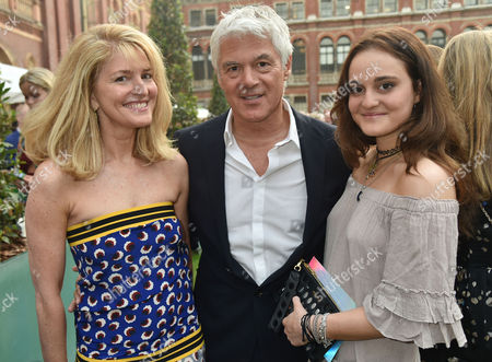 London, England, 22th June 2016: John Frieda and Avery Agnelli with His Daughter at the V&a Summer Party, London On the 22nd June 2016.
